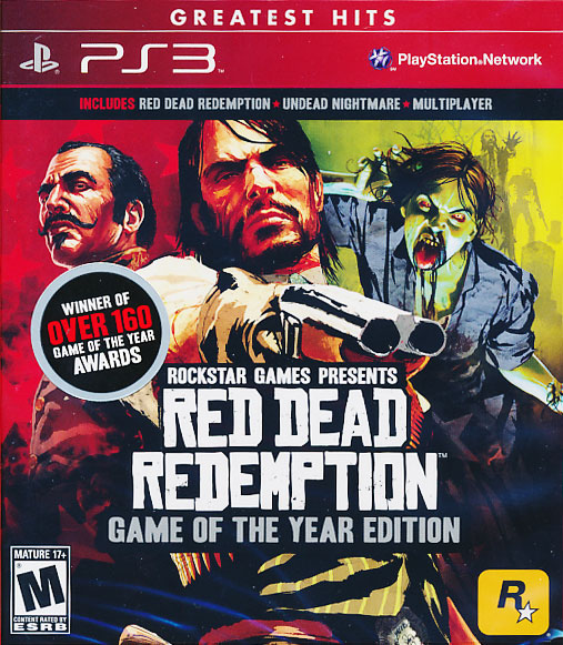 "For my Birfday, my best friend Jared purchased the GOTY Edition of Red Dead Redemption. Thanks goes to Jared for being an awesome friend and to Mike for being a great videogaming buddy! Look for a full review on HiddenDefinition of ""Red Dead Redemption"" soon."