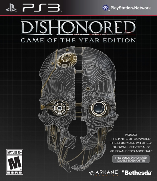 Corvo returns to wreck havoc on those who wronged him in the GOTY Edition which contains all DLC packs on disc. The total pack is a very lean $40.